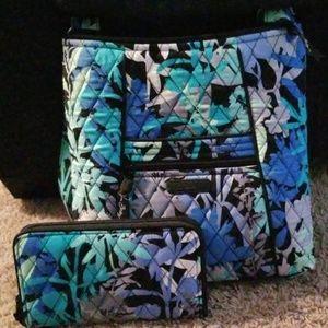 Vera Bradley hipster crossbody w/wallet